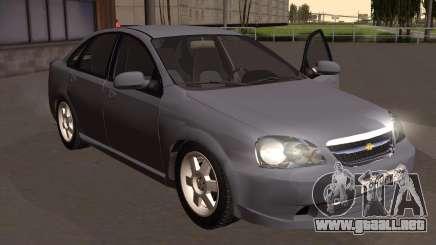 Chevrolet Lacetti Sedán седан para GTA San Andreas