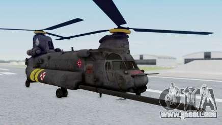 MH-47 Umbrella U.S.S para GTA San Andreas