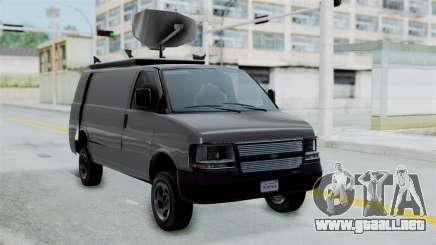 Vapid Speedo Newsvan para GTA San Andreas
