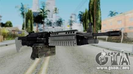 GTA 5 Combat MG - Misterix 4 Weapons para GTA San Andreas