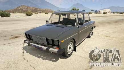VAZ 2106 Borgoña para GTA 5