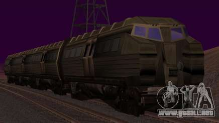 Batman Begins Monorail Train v1 para GTA San Andreas