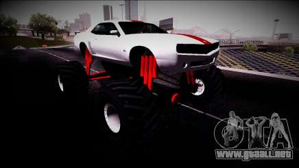 GTA 5 Bravado Gauntlet Monster Truck para GTA San Andreas