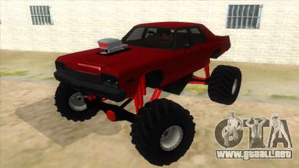 1974 Dodge Monaco Monster Truck para GTA San Andreas