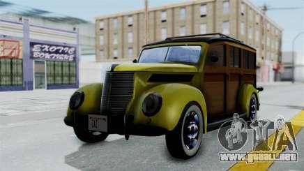 Ford V-8 De Luxe Station Wagon 1937 Mafia2 v2 para GTA San Andreas