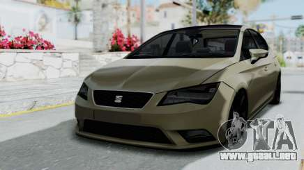 Seat Leon para GTA San Andreas