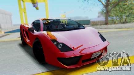 GTA 5 Pegassi Vacca SA Style para GTA San Andreas