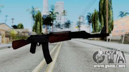 GTA 3 AK-47 para GTA San Andreas