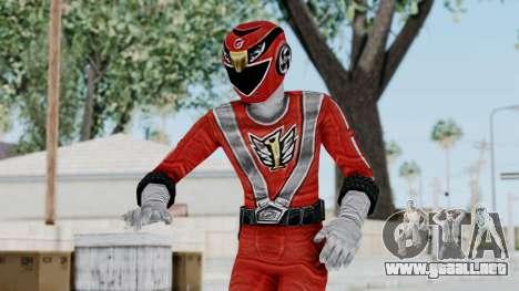 Power Rangers RPM - Red para GTA San Andreas