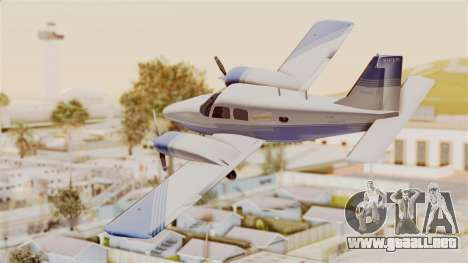 Piper Seneca II v2 para GTA San Andreas left