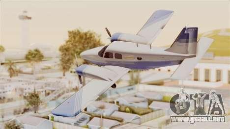 Piper Seneca II v2 para GTA San Andreas left