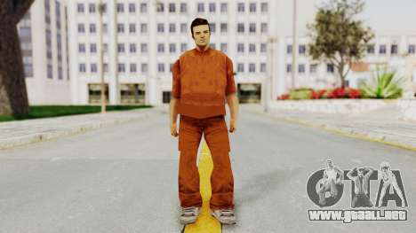 Claude Speed (Prision) from GTA 3 para GTA San Andreas segunda pantalla