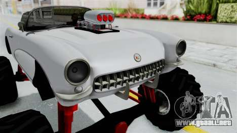 Chevrolet Corvette C1 1962 Monster Truck para visión interna GTA San Andreas