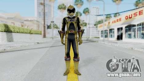 Power Rangers RPM - Gold para GTA San Andreas segunda pantalla