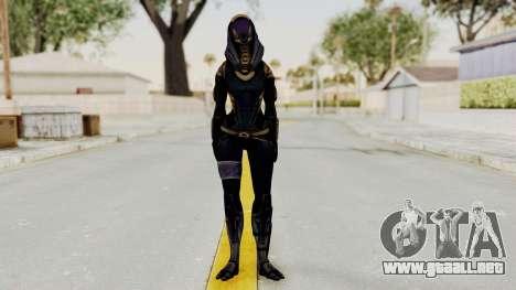 Mass Effect 3 Tali Armor para GTA San Andreas segunda pantalla