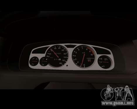 Nissan R33 GT-R Tunable para visión interna GTA San Andreas