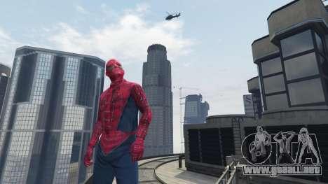 GTA 5 Spider-man quinta captura de pantalla