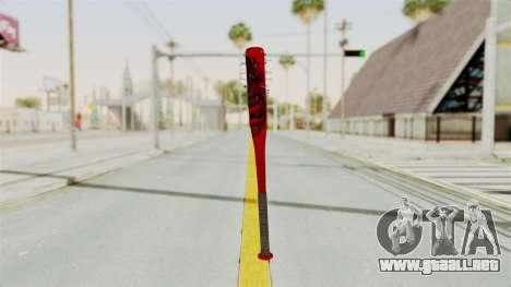 Nail Baseball Bat v2 para GTA San Andreas segunda pantalla