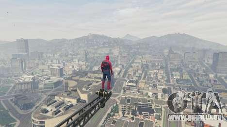 GTA 5 Spider-man sexta captura de pantalla