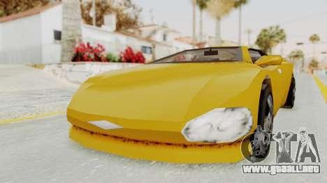 GTA 3 Infernus para la visión correcta GTA San Andreas