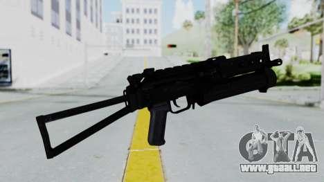 PP-19 BIZON para GTA San Andreas segunda pantalla