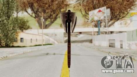 Skyrim Iron Mace para GTA San Andreas