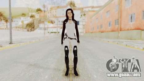 Mass Effect 3 Miranda para GTA San Andreas segunda pantalla