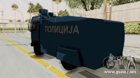 FAP Water Cannon para GTA San Andreas left