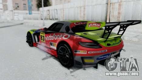 Mercedes-Benz SLS AMG GT3 PJ6 para GTA San Andreas