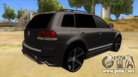 Volkswagen Touareg HQ para la visión correcta GTA San Andreas