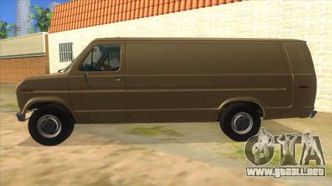 Ford E-250 Extended Van 1979 para GTA San Andreas left