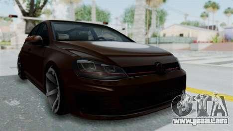 Volkswagen Golf 7 Stance para GTA San Andreas