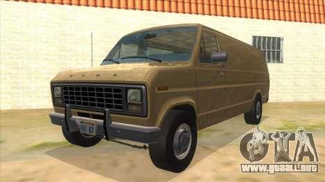 Ford E-250 Extended Van 1979 para GTA San Andreas