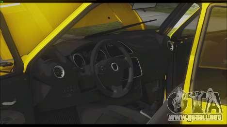 VAZ 1111 Oka para visión interna GTA San Andreas