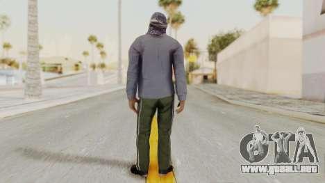 Middle East Insurgent v2 para GTA San Andreas tercera pantalla