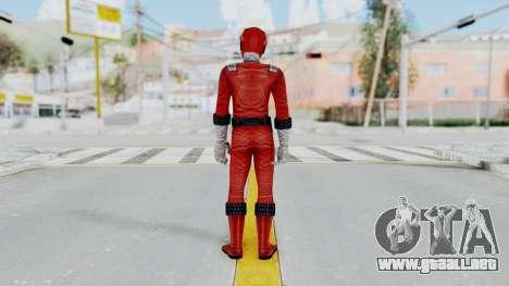 Power Rangers RPM - Red para GTA San Andreas tercera pantalla