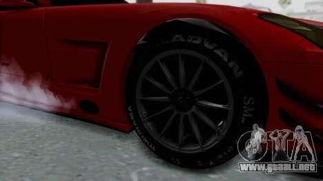 Mercedes-Benz SLS AMG GT3 PJ6 para GTA San Andreas vista hacia atrás