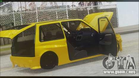 VAZ 1111 Oka para GTA San Andreas left