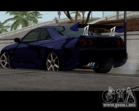 Nissan R33 GT-R Tunable para GTA San Andreas left