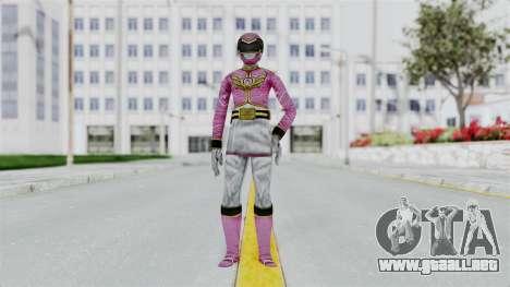 Power Rangers Samurai - Pink para GTA San Andreas segunda pantalla