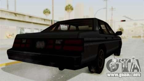 Cruiser from Manhunt 2 para la visión correcta GTA San Andreas
