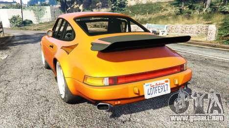 GTA 5 Ruf CTR v1.2 vista lateral izquierda trasera