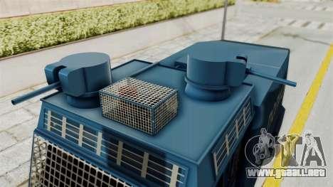 FAP Water Cannon para la visión correcta GTA San Andreas
