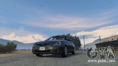 GTA 5 Lada Priora v.2.3 vista lateral derecha