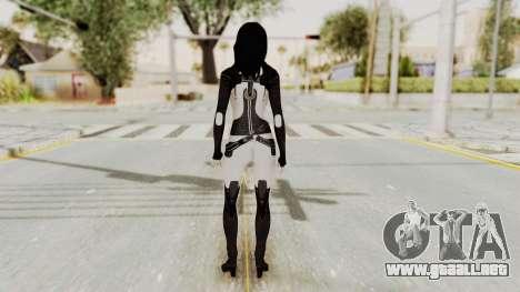 Mass Effect 3 Miranda para GTA San Andreas tercera pantalla