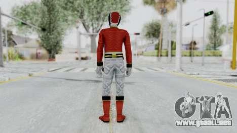 Power Rangers Megaforce - Red para GTA San Andreas tercera pantalla