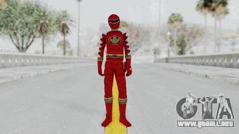 Power Rangers Dino Thunder - Red para GTA San Andreas segunda pantalla