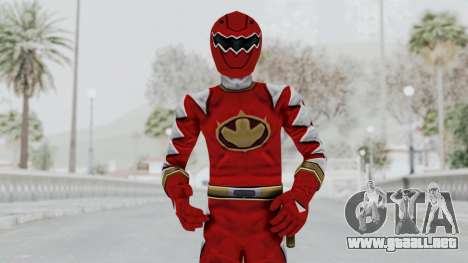 Power Rangers Dino Thunder - Red para GTA San Andreas