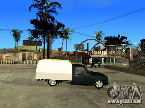 Vis 2345 para GTA San Andreas vista hacia atrás