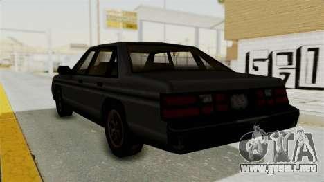 Cruiser from Manhunt 2 para GTA San Andreas left
